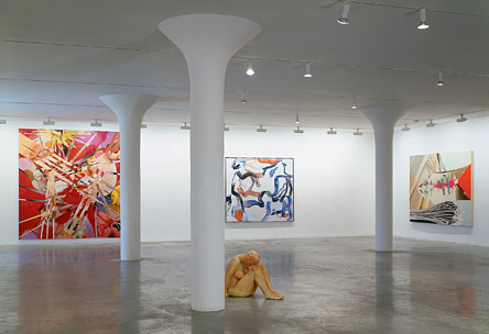 3rd floor, installation view, 2003