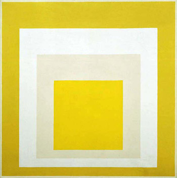 Joseph Albers, Homage to the Square: Yellow Resonance, 1957