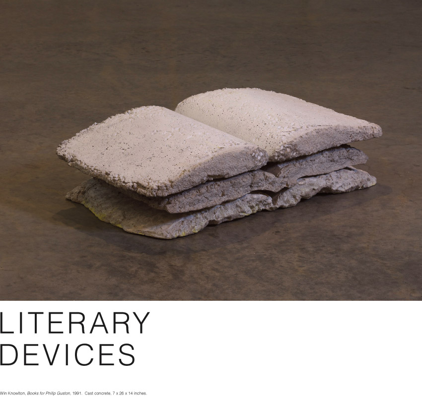 LITERARY DEVICES. On view October 11, 2014 - January 25, 2015
