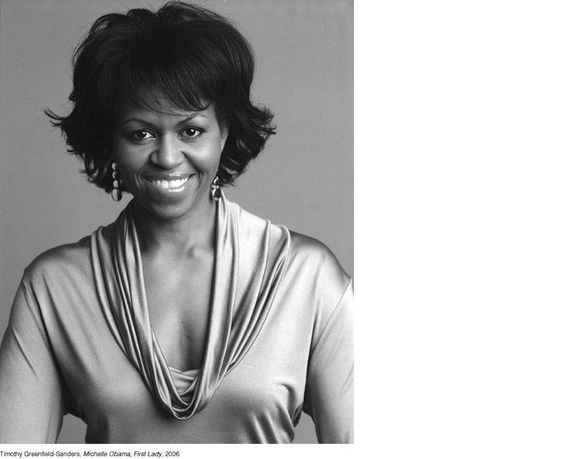 Timothy Greenfield-Sanders, Michelle Obama, First Lady, 2006