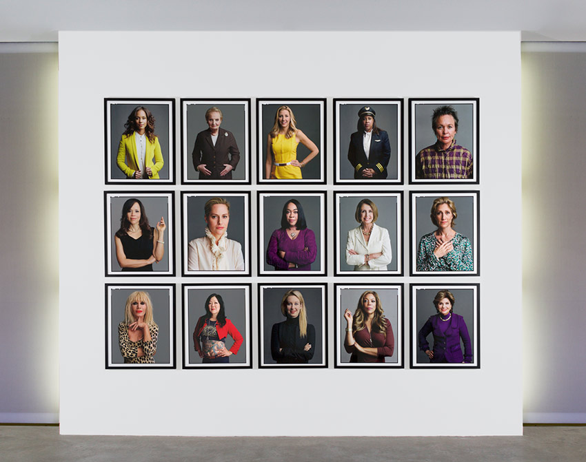 Timothy Greenfield-Sanders: The Women's List. 50 Portraits & Film Projection. June 16th–November 28th, 2016