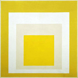 Joseph Albers, Homage to the Square:  Yellow Resonance, 1957. Oil on masonite, 40 x 40 inches